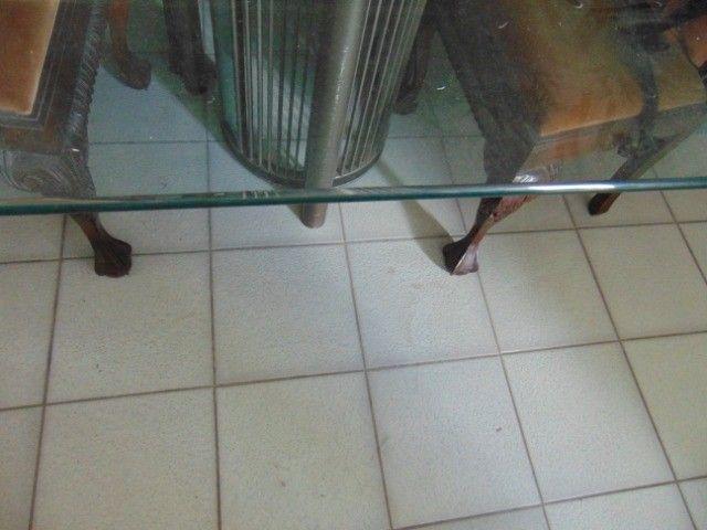 Mesa com tampo de vidro temperado  - Foto 3