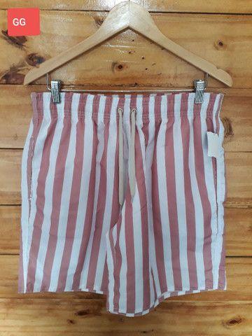 Shorts mauricinho estampados Tactel  - Foto 4