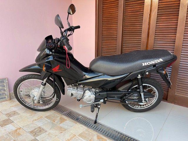 Honda POP 110i 2020 Estado de zero (800km) Aceito trocas parcelo cartão financio  - Foto 5