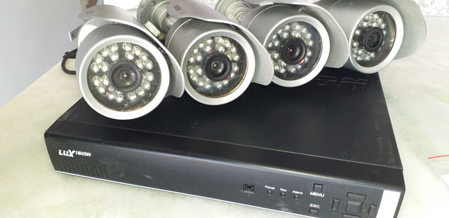 Kit Câmeras segurança + DVR e HD Extra + Interfone - Foto 4