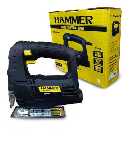 Serra Tico-tico Hammer 400w - Foto 4