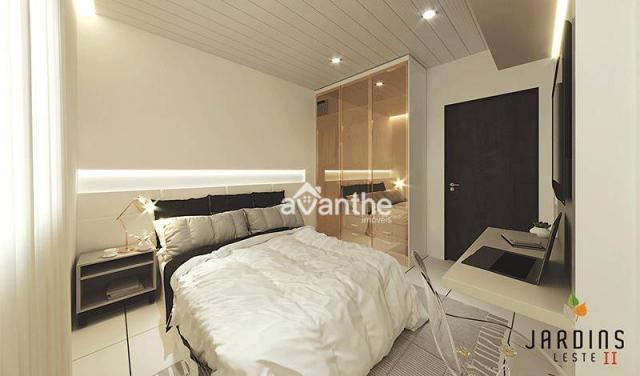 Apartamento com 3 dormitórios à venda, 59 m² por R$ 212.000 - Vale Quem Tem Zona Leste- Te - Foto 9
