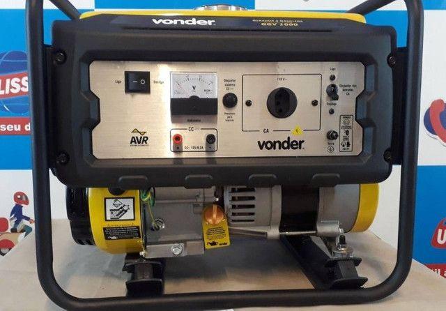 Gerador a gasolina 1.000 w ggv 1000 ? vonder - Foto 3