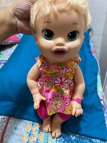 Boneca Comilona Baby Live - Foto 4