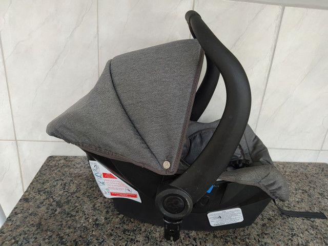 Carrinho de bebê moises com bebê conforto - Foto 6