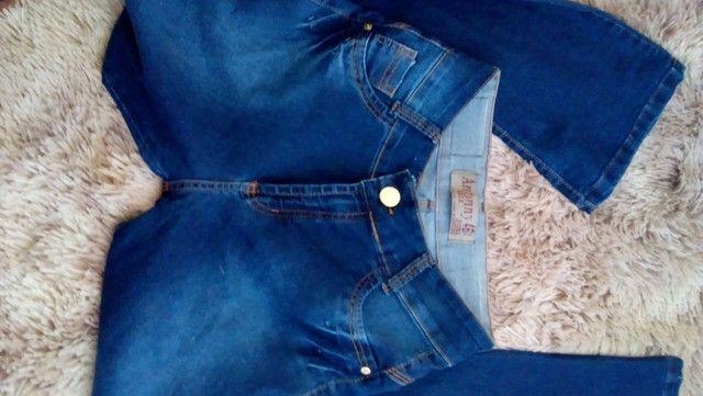 Calça jeans boca de sino - Foto 2