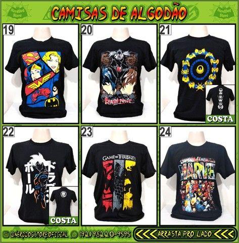 Camisas NerdDog Store - Coleção Geek (parte 1) - Foto 4