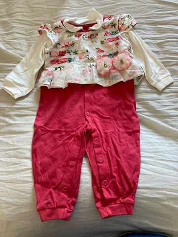 Roupas bebê menina 0 a 3 meses  - Foto 4