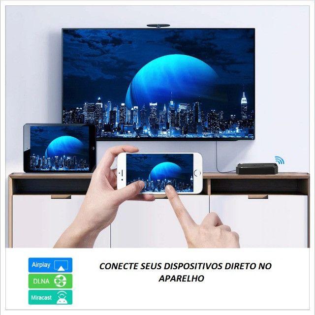 Smart box Android 10.0 X96q 4k Hdmi Hd 16gb Ram 2gb Wifi Integente - Foto 3