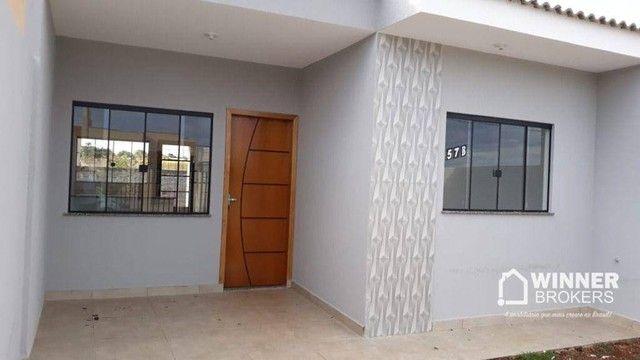 Casa com 2 dormitórios à venda, 57 m² por R$ 140.000,00 - Jardim Primavera - Floresta/PR - Foto 2