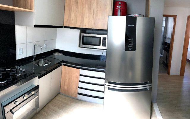 Apartamento novo com 2 dorm. semi-mobiliado, decorado pronto pra morar - Areis-São José - Foto 3