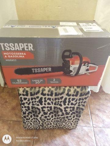 Vendo motoSerra a gasolina tssaper - Foto 5
