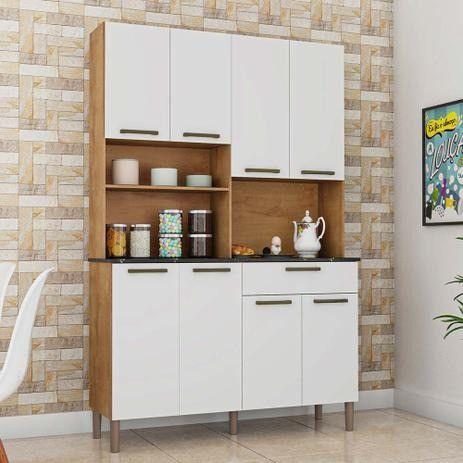 Armário de Cozinha Tannat 8 Portas - Foto 2