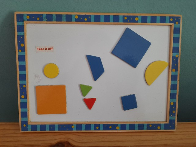 Quebra-cabeça formas geométricas  - Foto 5