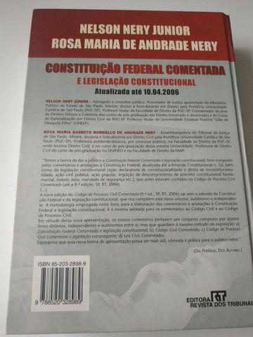 Livro CONSTITUIÇÃO FEDERAL COMENTADA - Foto 2