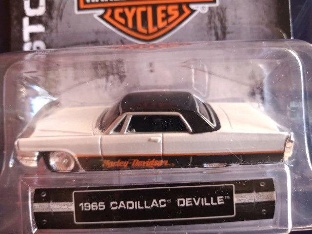 Maisto Hd Custon Harley Davidson Cadillac Deville 1965 -1:64