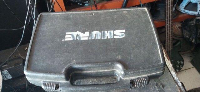 Microfone Shure. SLX 4 mhz L4638-662