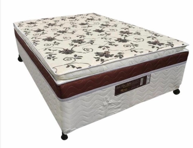 Cama - Casal Box Meron com Pillow - Cama