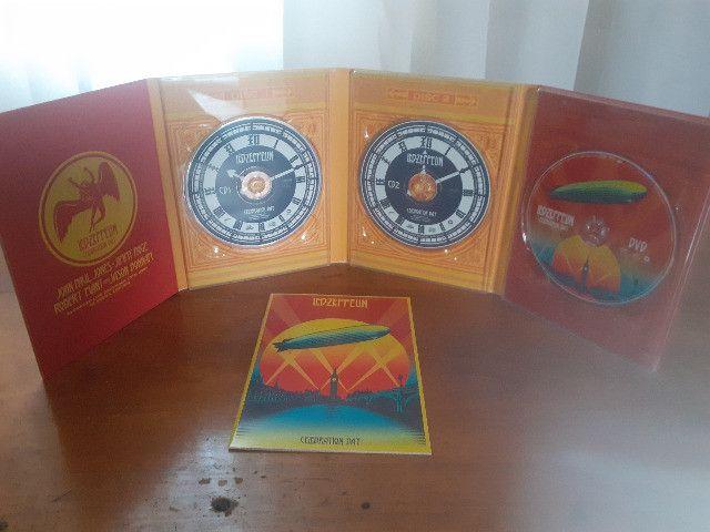 Led Zeppelin Celebration Day Box com 2 Cds e 1 Dvd + Encarte - Foto 5