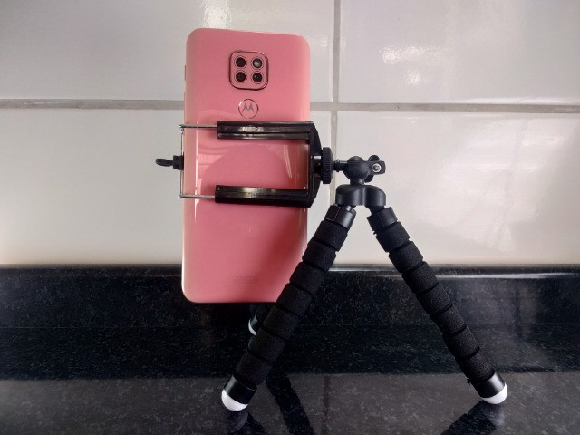 Mini tripé Barato Para Celular e Câmera - Foto 3