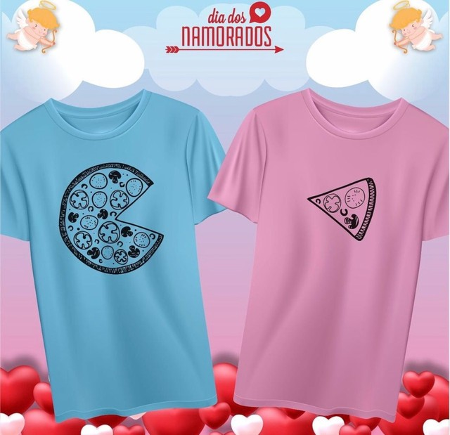 T-shirts Casal Dia dos Namorados - Foto 4