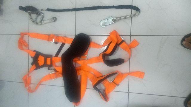 Cinto paraquedista + talabarte - Foto 3