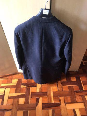 Terno risca de giz TNG top blazer 50 calça 52