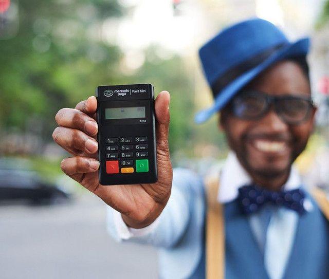 Maquininha Point Mini - A Máquina De Cartão Do Mercado Pago<br><br>