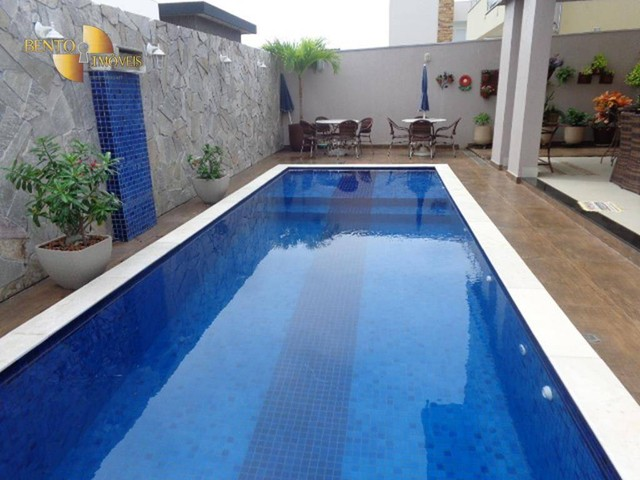 Casa com 5 dormitórios à venda, 490 m² por R$ 2.200.000,00 - Condomínio Florais Cuiabá Res - Foto 6