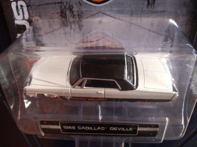 Maisto Hd Custon Harley Davidson Cadillac Deville 1965 -1:64 - Foto 3