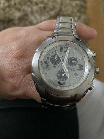 Relógio citizen eco drive usado - Foto 3