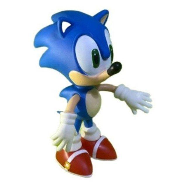 Boneco Sonic Grande 23cm Promoção  - Foto 4