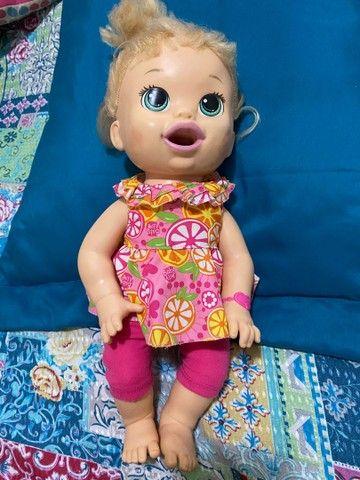 Boneca Comilona Baby Live