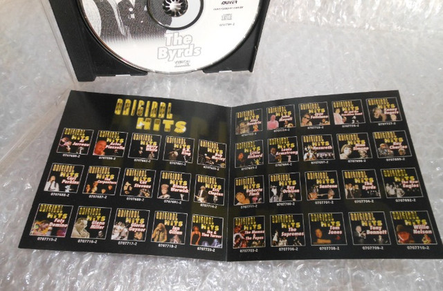 Cd The Byrds - Original Hits - Foto 6