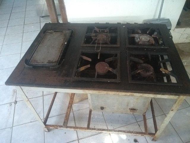Fogão endustrial com forno - Foto 4