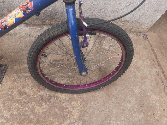 Bicicleta em ótimo estado  - Foto 6