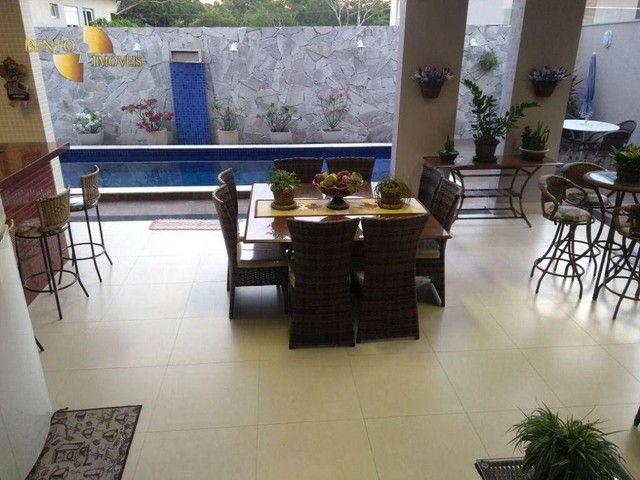 Casa com 5 dormitórios à venda, 490 m² por R$ 2.200.000,00 - Condomínio Florais Cuiabá Res - Foto 4