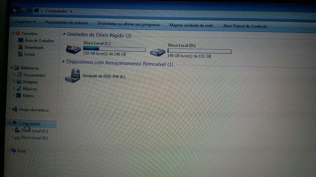 Notebook Samsung rv411 i3 m380 4gb ram HD 250gb - Foto 2