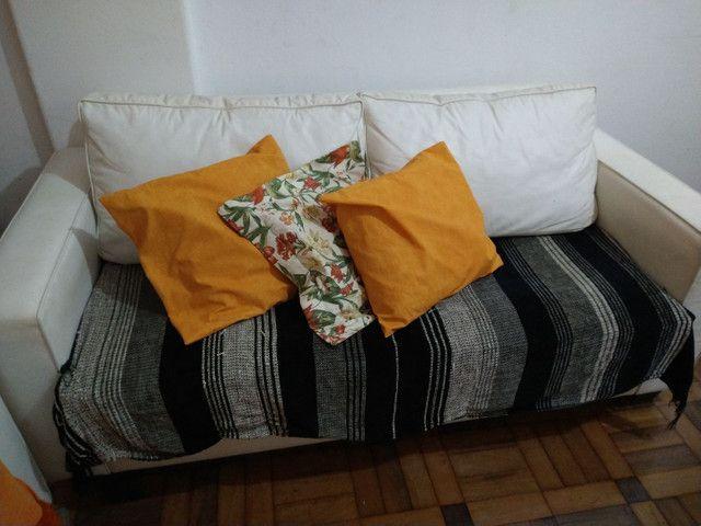 sofá 3 lugares de couro