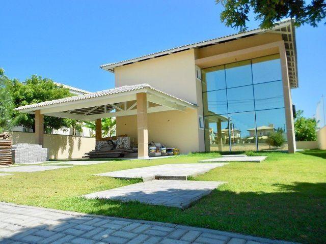 Casa de Alto Padrão Alphaville Fortaleza / 340m² / 04 suítes / 04 vagas - CA0645