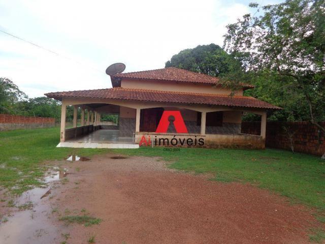 Casa na Estrada do Amapá nº 1553 - Bairro Corrente