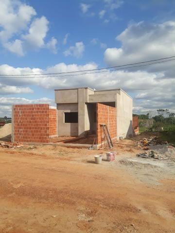 Casa nova , em fase de construção - Documentada