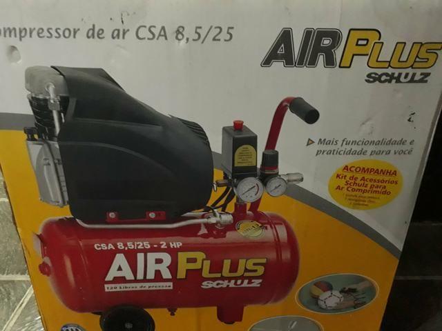 Compressor de ar air plus schulz CSA 8.5 / 25
