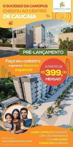 Apartamento na Caucaia R$199,00 de sinal ITBI e Registro Grátis - Foto 3
