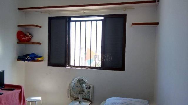 Cobertura com 3 dormitórios para alugar, 256 m² por r$ 5.000/mês - canto do forte - praia  - Foto 14