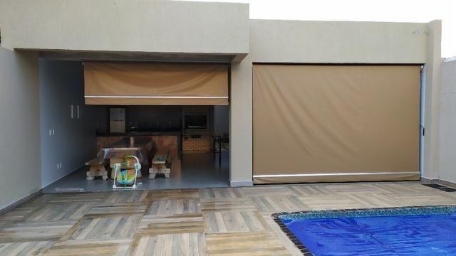 Linda casa, cond fechado, Vicente Pires, Rua 8, churrasq, piscina aquecida, 4qts, 4ban - Foto 13