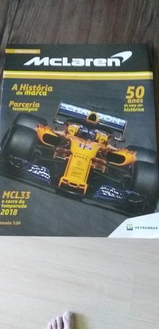 Réplica do F-1 McLaren