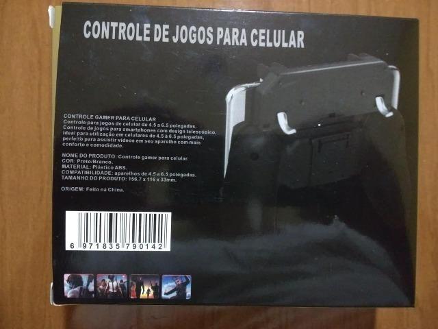 Controle/Manete para Celular - (suporte +gatilhos) De 50 por 25 a vista - Foto 2