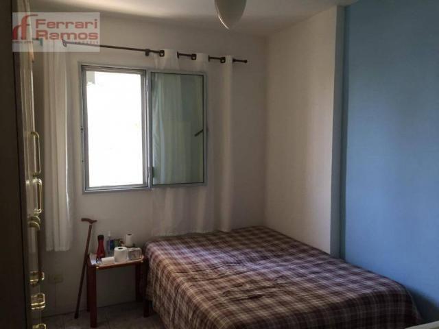 Apartamento com 1 dormitório à venda, 47 m² por r$ 230.000 - macedo - guarulhos/sp - Foto 2