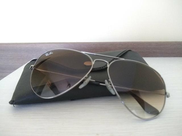 2e2707a16618b Óculos Solar Ray Ban Aviador - Bijouterias